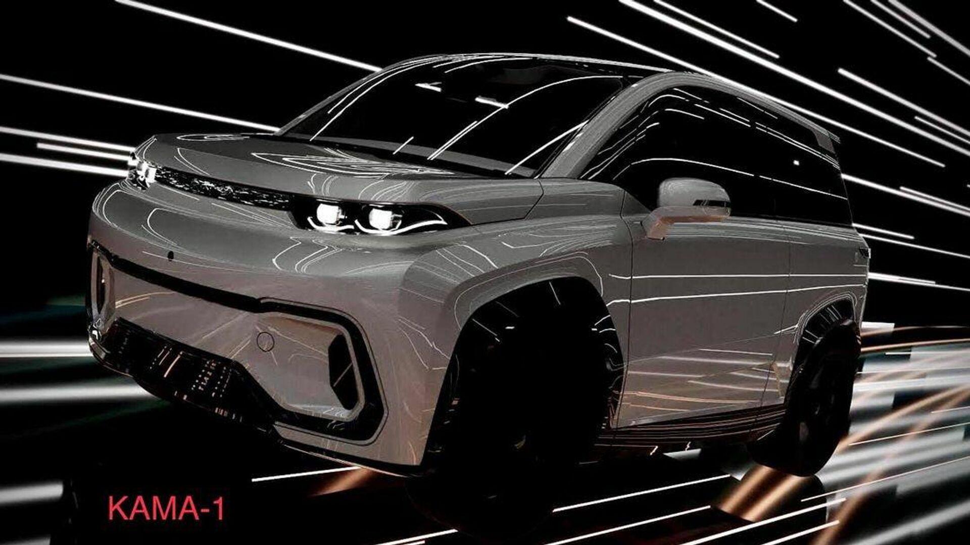 Разработан первый в России электромобиль на основе цифровых двойников