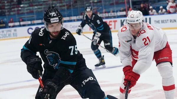 Сочи — Спартак в матче регулярного чемпионата КХЛ