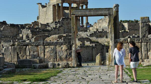 Капитолий (II в. н.э.) в древнем городе Дугга