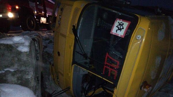 ДТП со школьным автобусом в Чувашии
