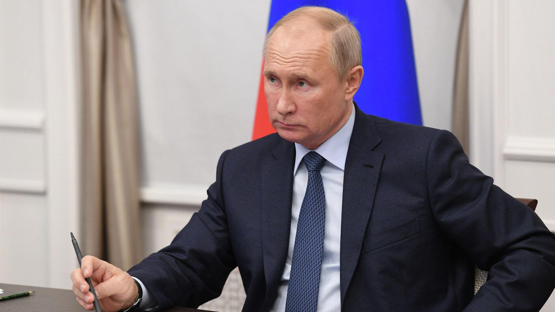 Президент РФ Владимир Путин проводит совещание в Нижегородской области - РИА Новости, 1920, 02.12.2020