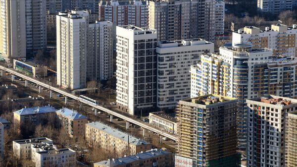 Жилые дома в Москве