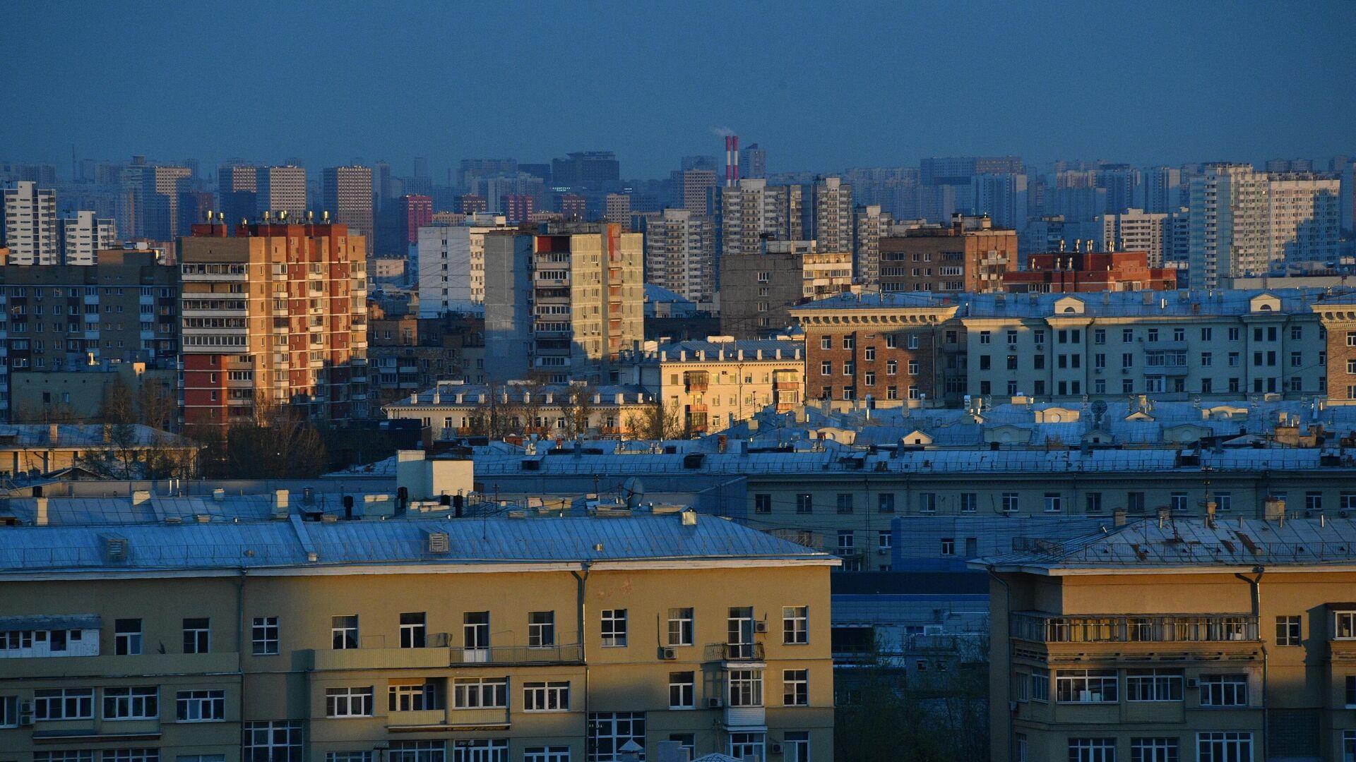 Жилые дома в Москве - РИА Новости, 1920, 07.01.2021