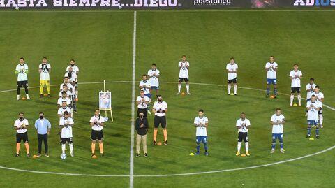Матч чемпионата Аргентины по футболу между командами Ривер Плейт и Росарио Сентраль