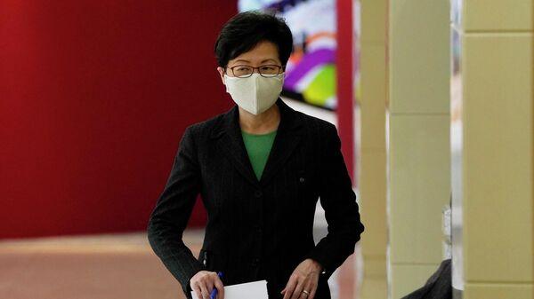 Глава администрации Гонконга Кэрри Лэм