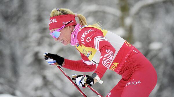 Российская лыжница Татьяна Сорина