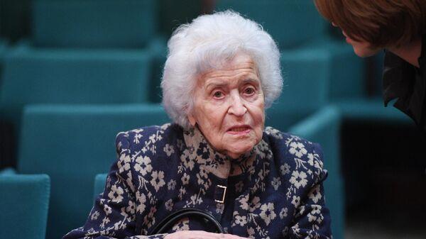 Президент Государственного музея изобразительных искусств имени А. С. Пушкина Ирина Антонова