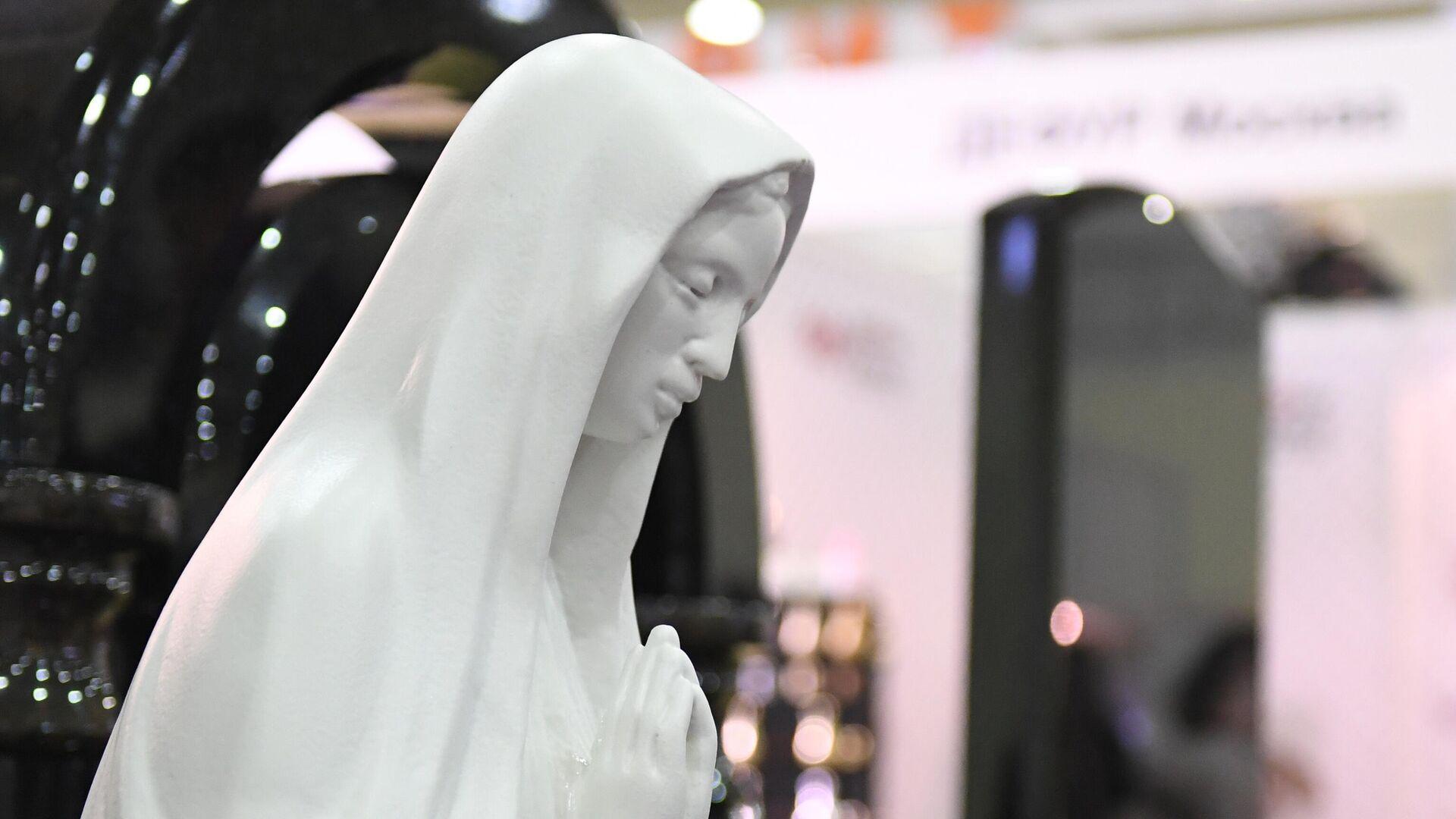 Международная выставка погребальных принадлежностей, похоронного сервиса, мемориального искусства Некрополь - РИА Новости, 1920, 01.12.2020
