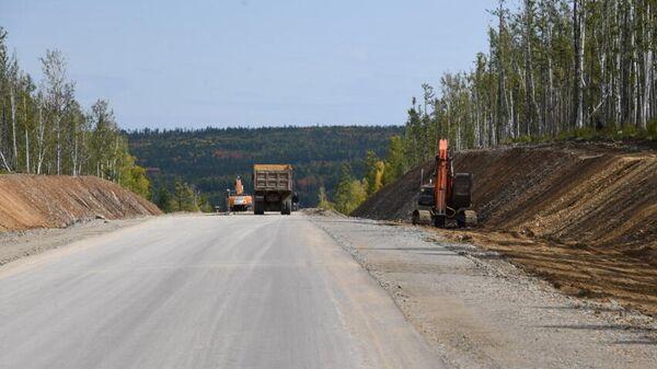 Ремонт дороги на Арахлейские озера в Забайкальском крае