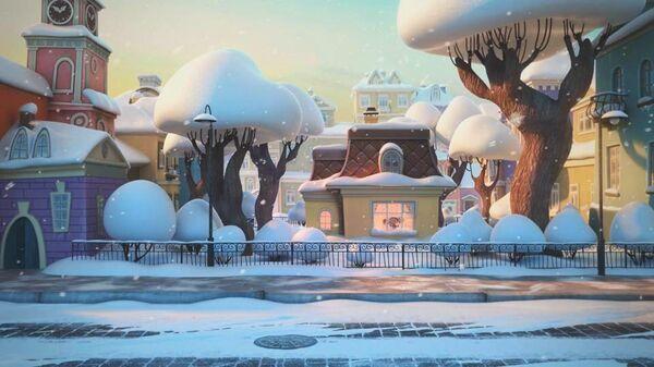 Новогодняя короткометражка Чебурашка. Секрет праздника