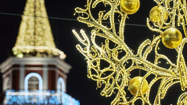 Предновогодний Санкт-Петербург