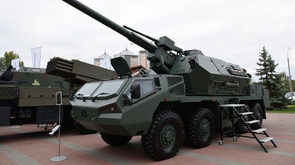 Самоходная артиллерийская гаубица Дана