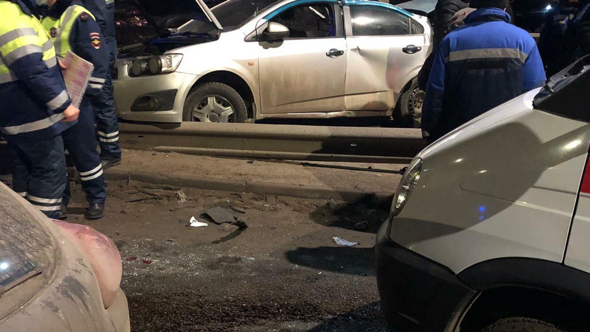 В Смоленске два человека погибли при ДТП