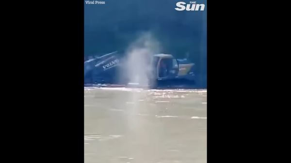Скриншот видеозаписи от The SUN