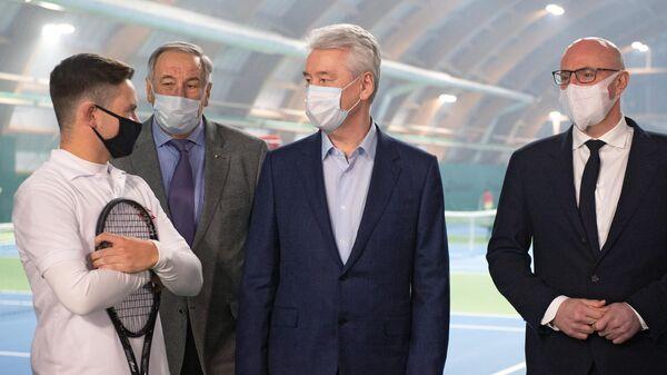 Мэр Москва С. Собянин посетил спортивные центры в Сокольниках