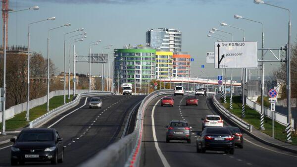 Открыто движение по Южному дублеру Кутузовского проспекта