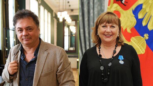 Андрей Леонов и Татьяна Кравченко
