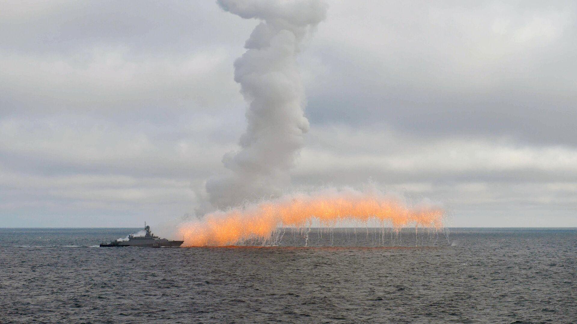 ВМФ Российской Федерации  впервый раз  за10 лет проведёт учения сНАТО