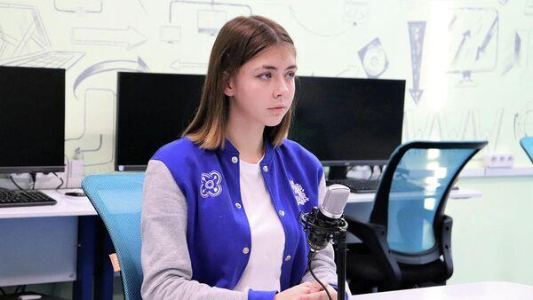 Молодая ученая Ульяна Хлыбова