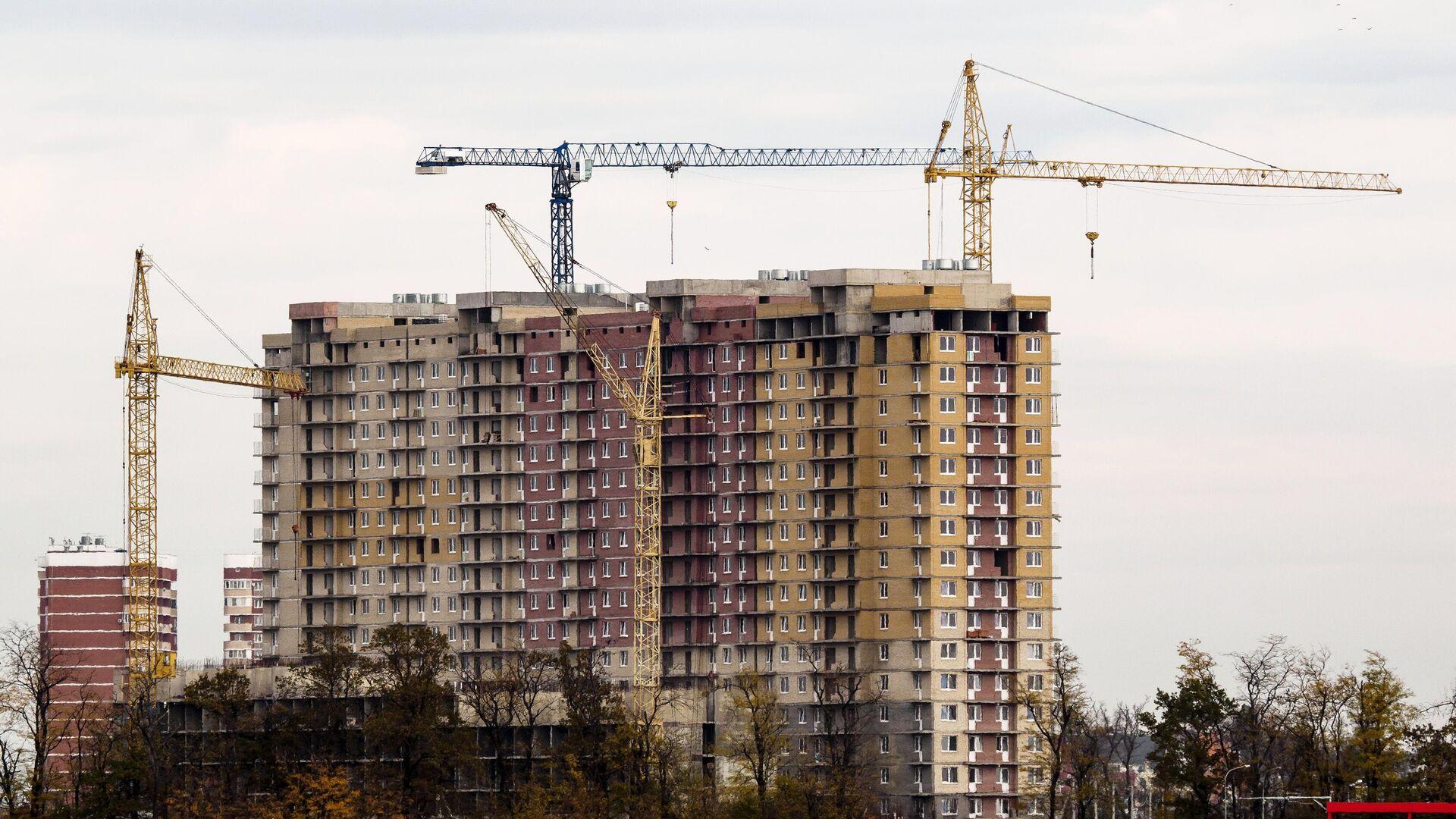 Строительство жилья - РИА Новости, 1920, 22.03.2021