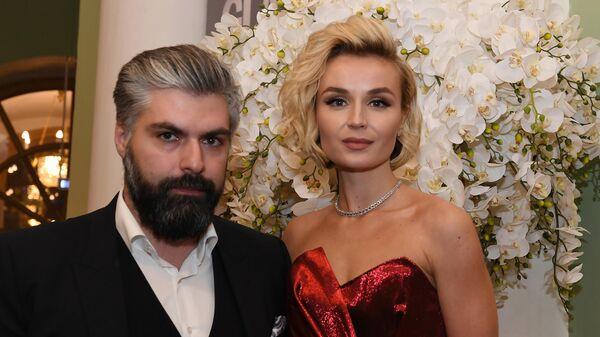 Певица Полина Гагарина и Дмитрий Исхаков