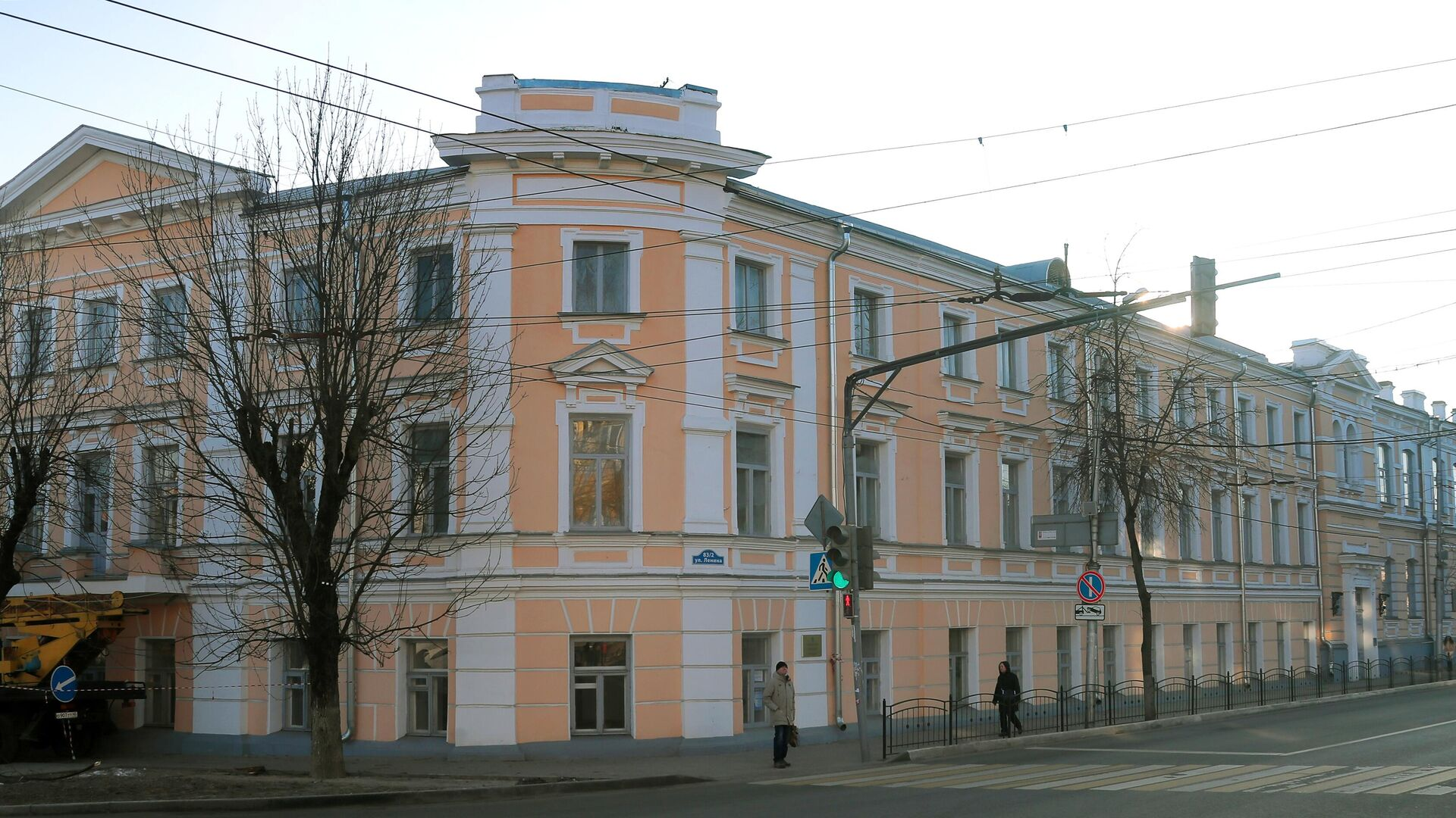 Здание Калужской мужской гимназии - РИА Новости, 1920, 19.07.2021