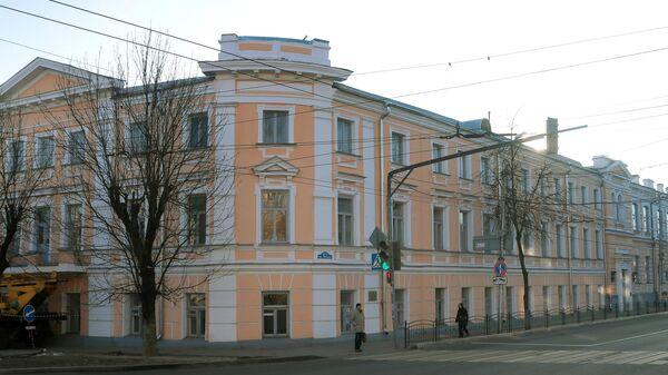 Здание Калужской мужской гимназии