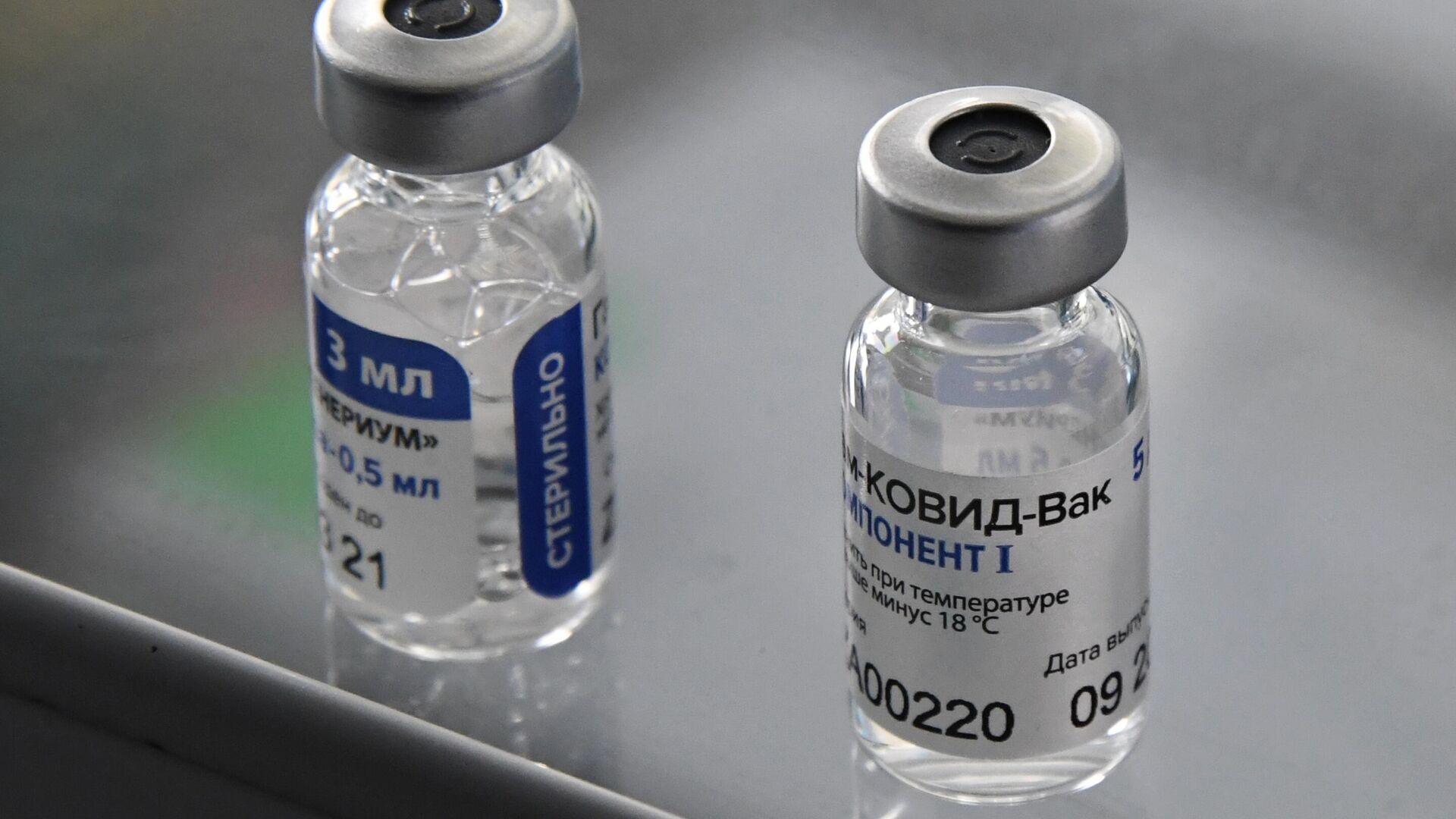 """Мясников сравнил """"Спутник V"""" и вакцину от Pfizer - РИА Новости, 20.12.2020"""