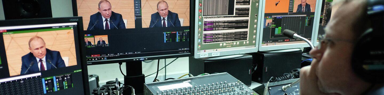 Трансляция пресс-конференции президента РФ Владимира Путина