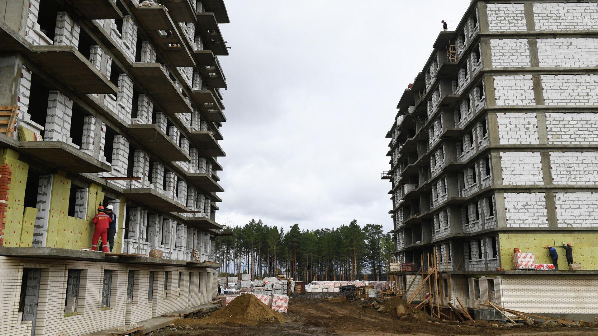 Строительство жилья - РИА Новости, 1920, 17.12.2020