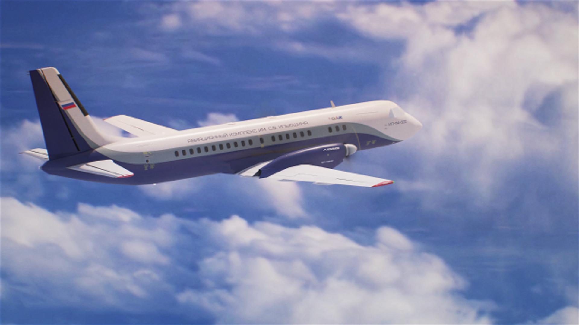 Новый российский пассажирский самолет Ил-114-300 - РИА Новости, 1920, 17.12.2020