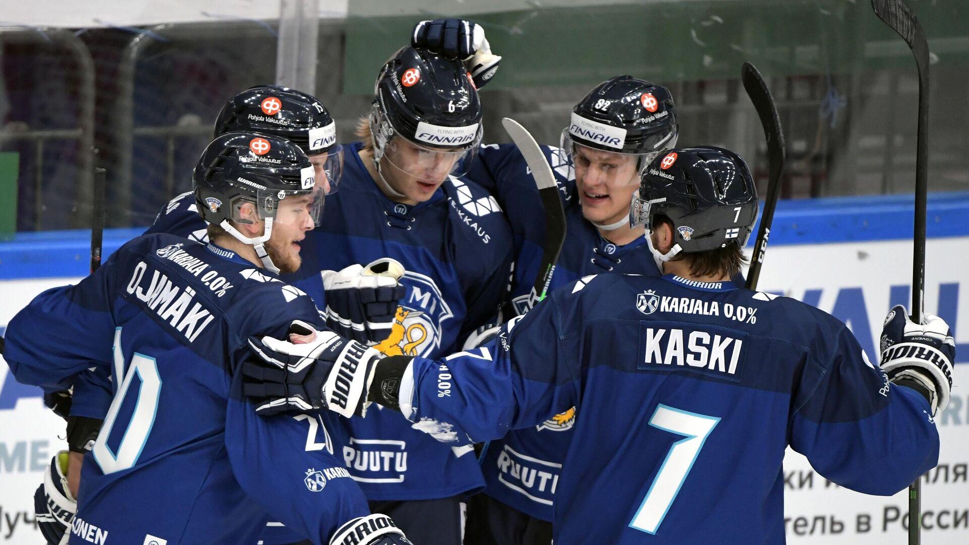 Хоккеисты сборной Финляндии - РИА Новости, 1920, 17.12.2020