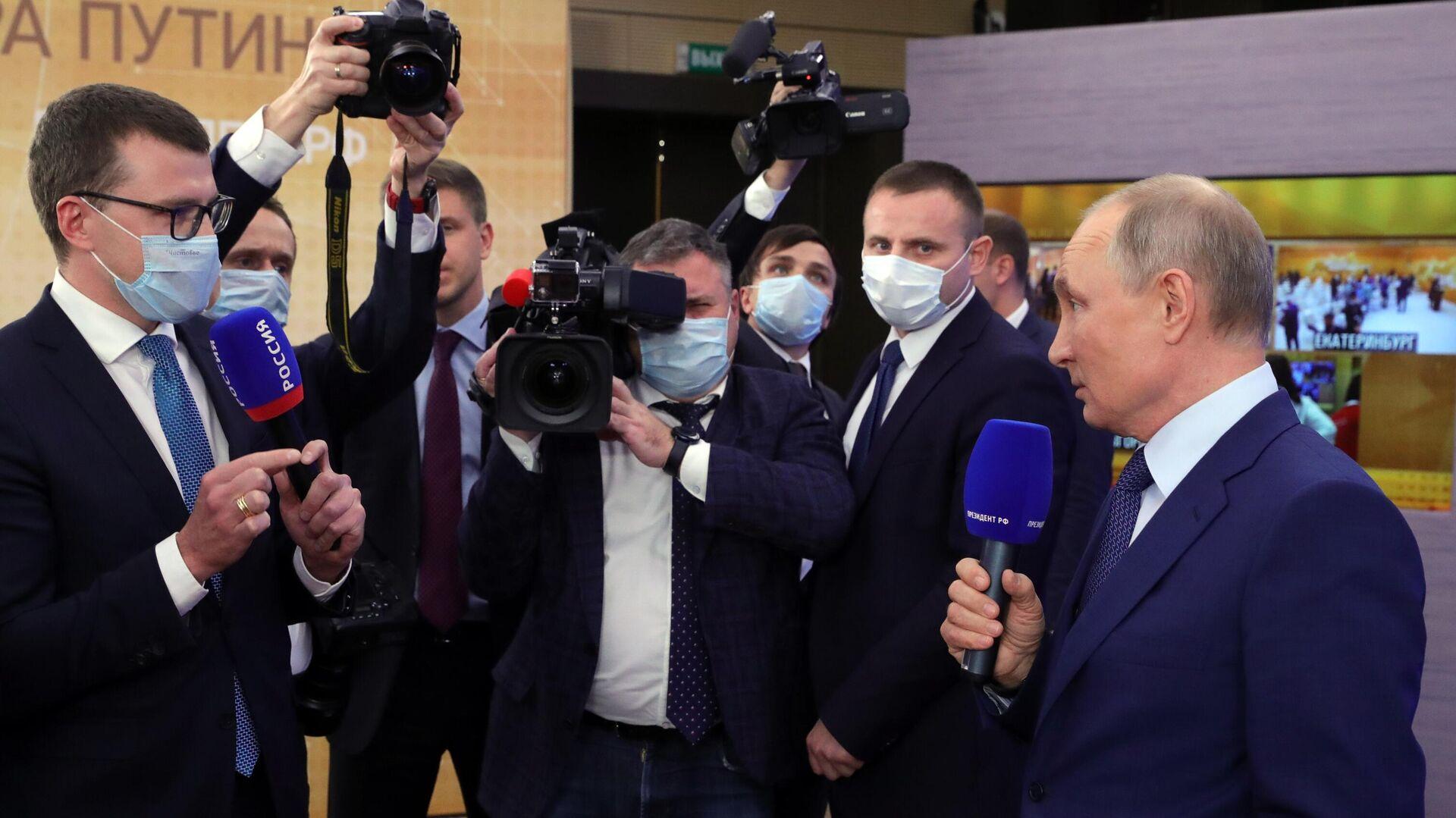 В Госдуме объяснили интерес СМИ к мнению Путина о ситуации в мире