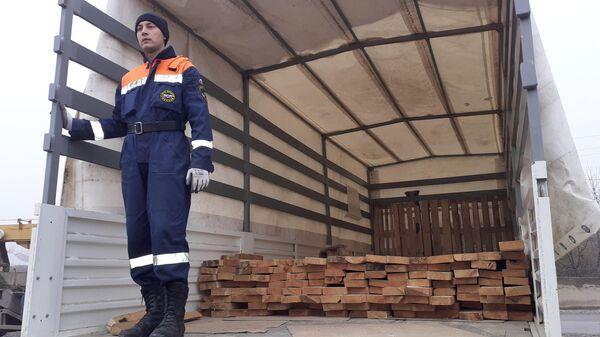 Гуманитарная помощь из России прибыла в Азербайджан