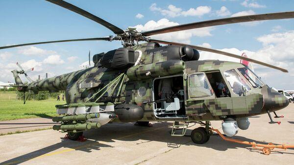 Вертолет Ми-8АМТШ-ВН