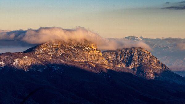 Горный пейзаж Сюникской области Армении