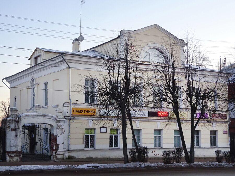 Дом Русиновых на Ярославской улице