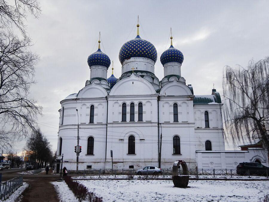 Богоявленский собор на территории Богоявленского монастыря