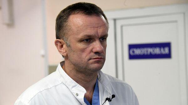 Главный врач Городской клинической больницы № 15 имени О.М. Филатова Валерий Вечорко