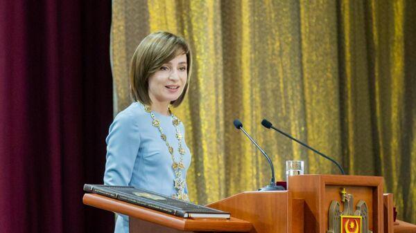 В Молдавии назвали первые сто дней президентства Санду катастрофой