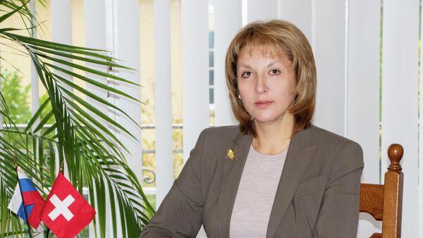 Торговый представитель РФ в Швейцарии Татьяна Воложинская
