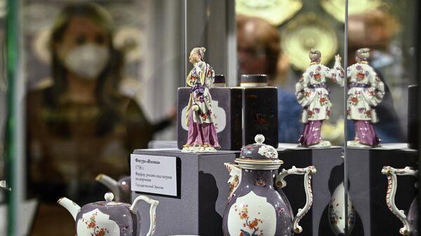 Выставка фарфора из собрания князей Юсуповых в Архангельском