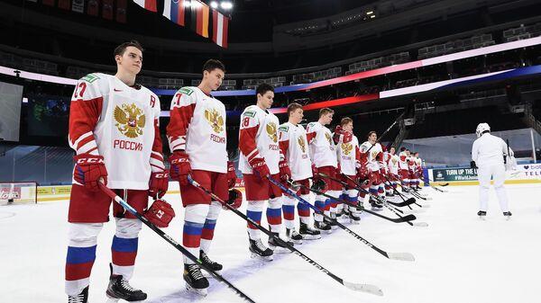 Молодежная сборная России по хоккею на юниорском чемпионате мира