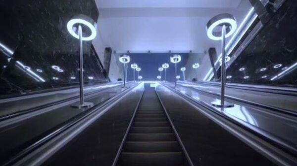 В Москве открыта новая станция метро Электрозаводская