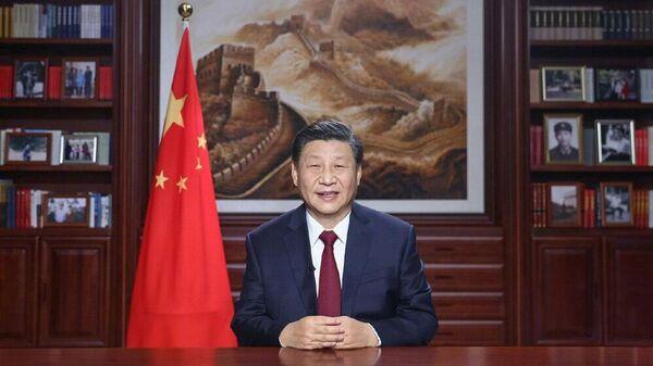 Председатель КНР Си Цзиньпин поздравил китайскую нацию и народы всего мира с наступающим 2021 годом