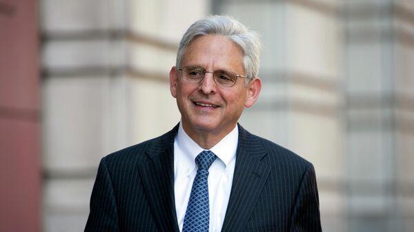 Американский юрист Меррик Гарланд