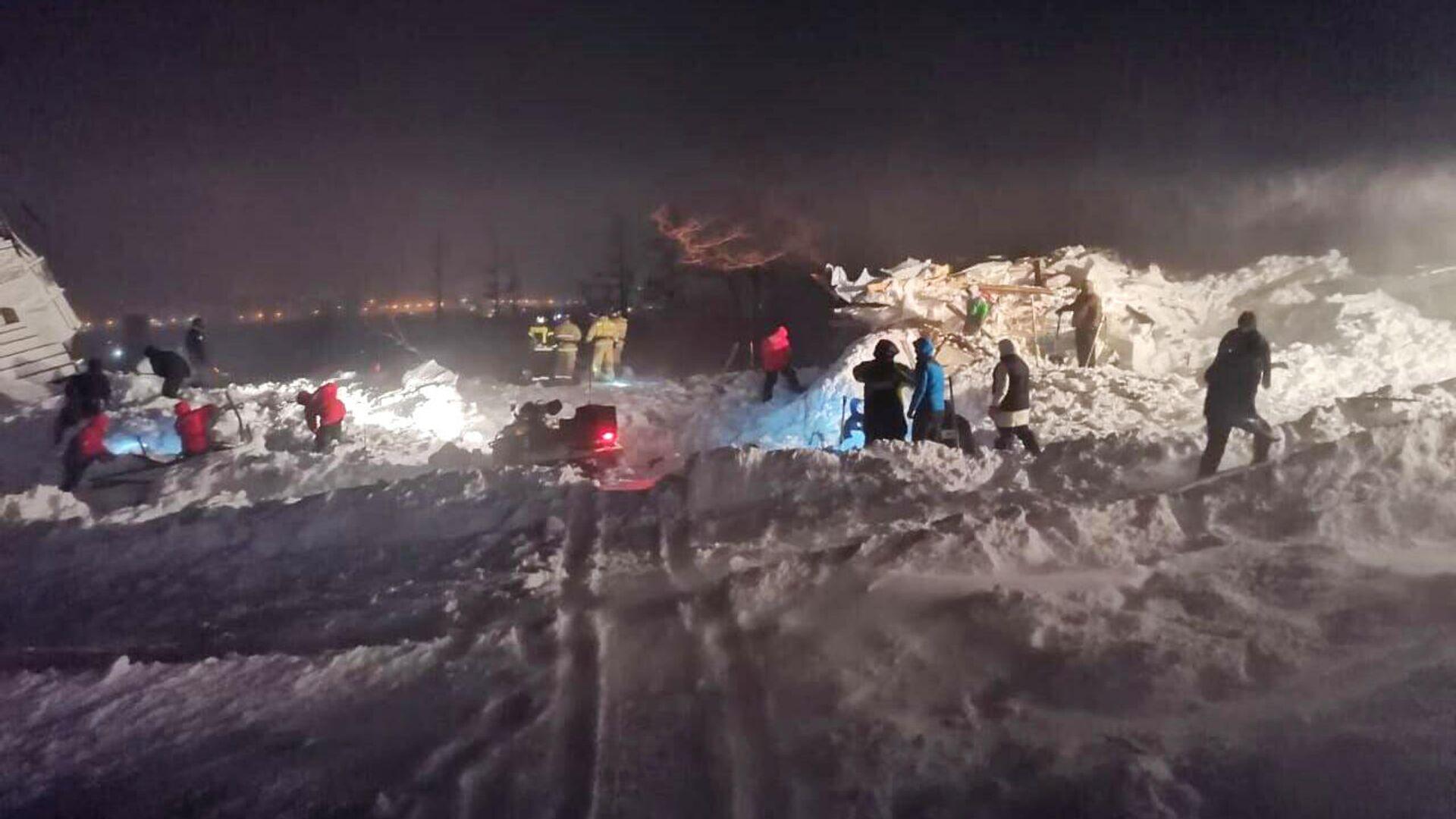 МЧС опровергло данные об угрозе схода лавины в Норильске