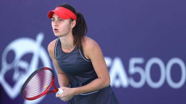 Российская теннисистка Анастасия Гасанова