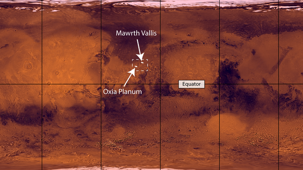 Два варианта места посадки миссии Экзомарс-2022