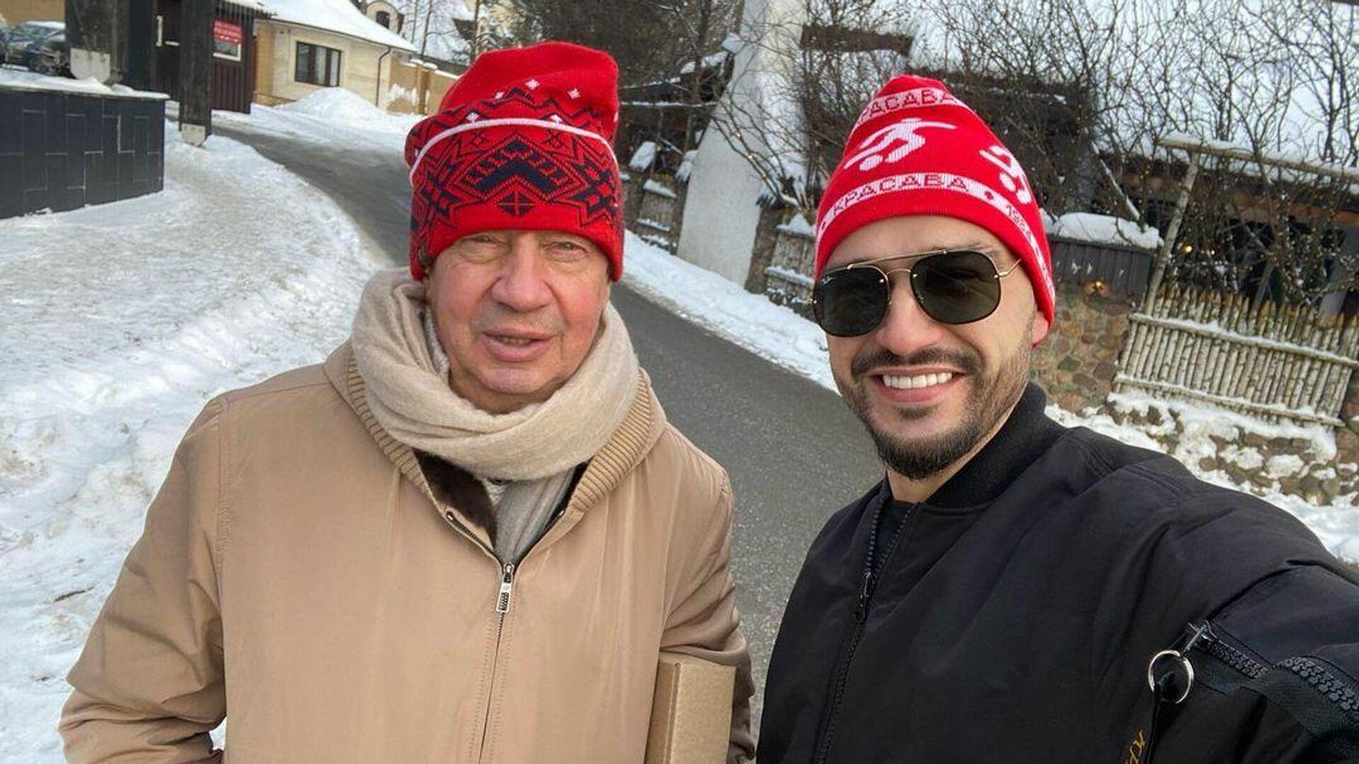 Юрий Семин (слева) и Евгений Савин - РИА Новости, 1920, 13.01.2021